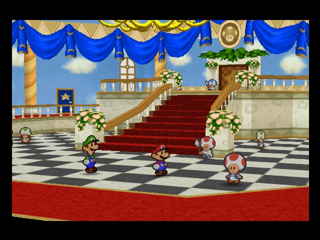 Paper Mario - Location  - inside the castle - User Screenshot